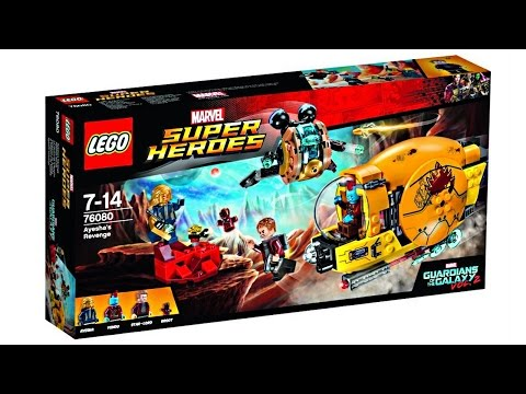 LEGO Guardians of the Galaxy 2 sets pictures!