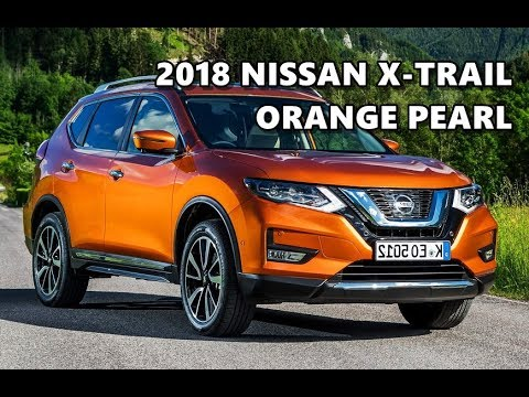2018 nissan x trail interior. exellent 2018 0759 2018 nissan xtrail orange pearl exterior interior and nissan x trail interior