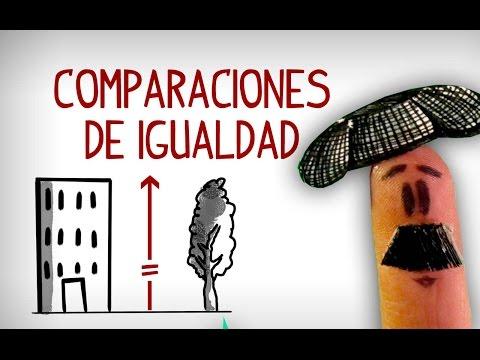 Comparaciones En Español De Igualdad. Aprender Español