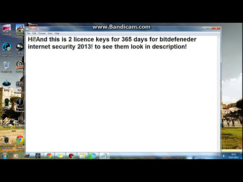 Bitdefender Total Security 2013 and Internet Security 2013 Serials
