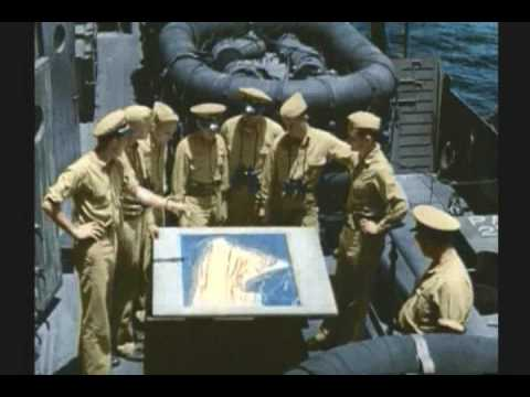 TARAWA 1 of 3 WWII RARE COLOR FILM Music Videos