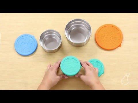 Seal Cup Trio - 3-Piece Lunch Set