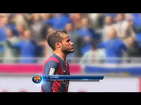 Pes 2015 Gameplay - Fc Barcelona Vs Chelsea F.c.  Uefa Champions League 14-15 | No Demo | (pes 2015) video