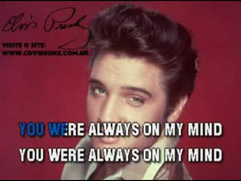 Elvis Presley   Always On My Mind