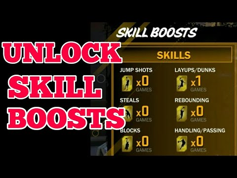 NBA 2K18 HOW TO GET SKILL BOOSTS