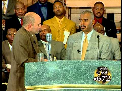 Pastor Gino Jennings Truth of God Broadcast 669-672 Harry Knox Debate Part 2 of 2
