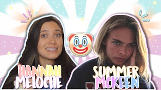 Summer Mckeen and Hannah Meloche laughing at fan edits?! DRAMA on leaked posts