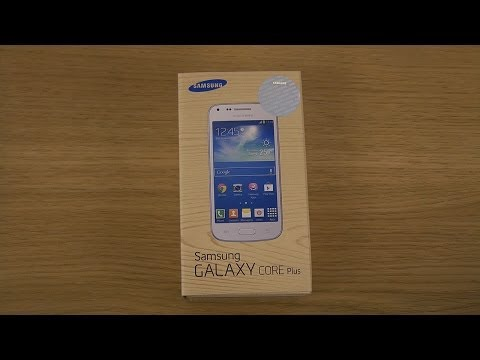 Samsung Galaxy Core Plus SM-G3500 - Unboxing