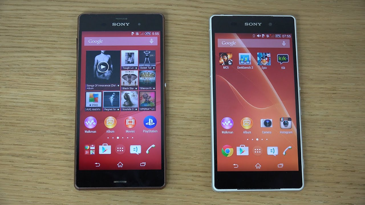 Sony Xperia z3 Android 4.4.4