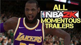 ALL NEXT GEN NBA 2K Momentous Trailer (2K14-2K19)