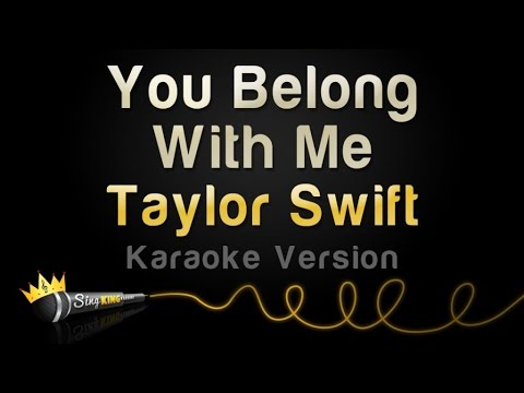 Taylor Swift - You Belong With Me (Karaoke Version)