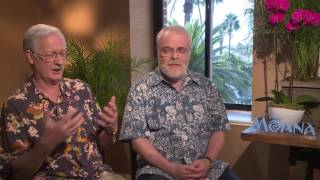 MOANA: Backstage With John Musker & Ron Clements