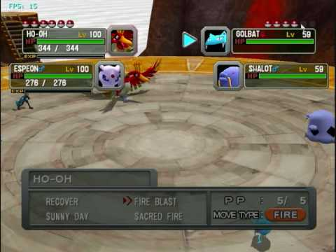 Pokemon Colosseum on Dolphin Wii/GC Emulator (HQ)