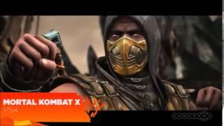 Mortal Kombat  X - 2015 (PS3,PS4,XBOX 360,XBOX ONE,PC) Gameplay
