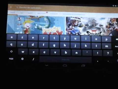 Comment installer play store dans tablette takara.