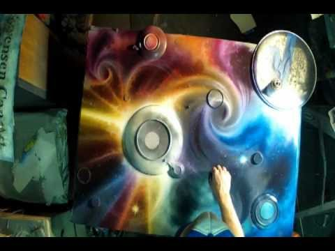 spray paint art techniques spray paint art gopro hero 2. Black Bedroom Furniture Sets. Home Design Ideas