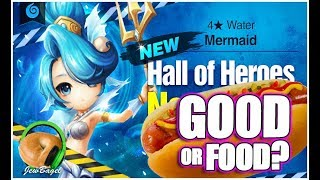 SUMMONERS WAR : Tetra the Water Mermaid Hall of Heroes - Good or Food?