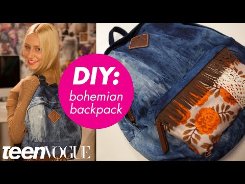 How to Customize Your Backpack - Teen Vogue