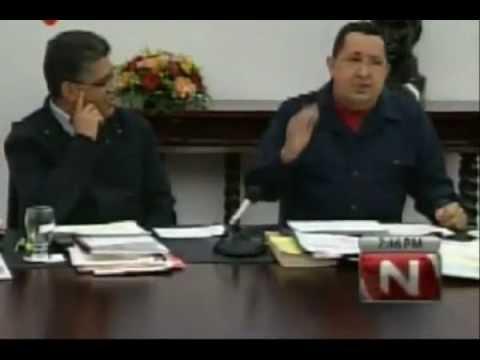 Chávez le pide a Er Conde del Guácharo que le ponga