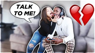IGNORING MY GIRLFRIEND FOR 24 HOURS PRANK! (do not attempt)