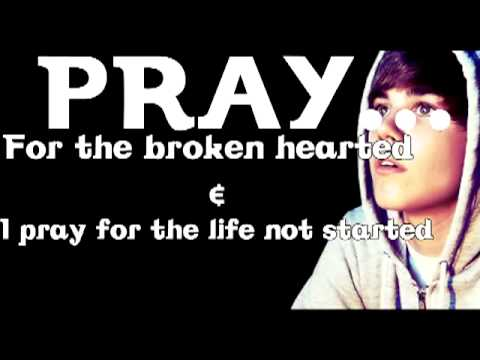 Justin Bieber - Pray [ Lyrics ] (new Single) [my Worlds Acou video