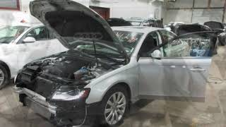 Parting out a 2012 Audi A4 parts car - 180423 - Tom's Foreign Auto Parts
