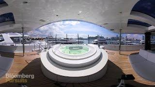 Step Aboard a $40 Million Luxury Mega Yacht in 360