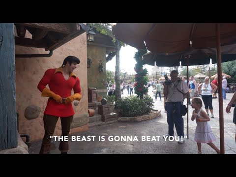 Little Girl Puts Gaston In His Place: Disney World 2014 video