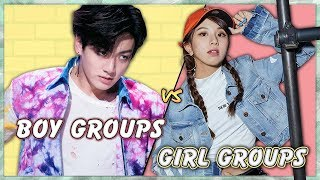 Pick One Kick One (Boy Groups vs Girl Groups)