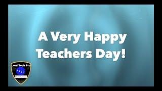 Happy Teachers Day! (2018)