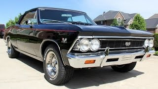 1966 Chevrolet Chevelle Convertible For Sale