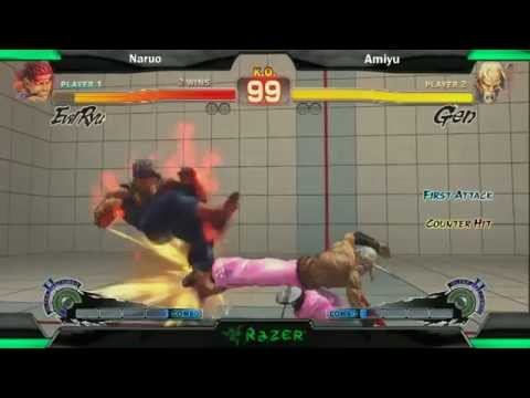 SS2K12 AE2012: Naruo (Evil Ryu) vs Amiyu (Gen) - Day 2 (Losers Final Match)