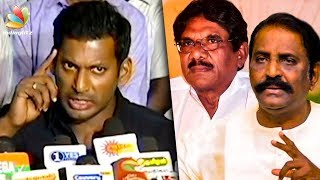 Ilayaraja 75 : Why Vairamuthu & Bharathiraja Didn't Come? | Vishal Press Meet | Latest Speech