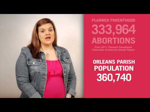 Nola Needs Peace TV Spot: Population of New Orleans