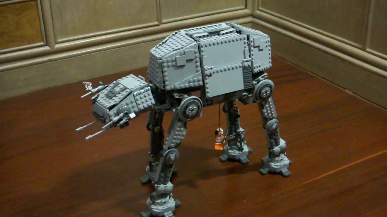 Lego star wars 10178 at at with remote control youtube - Croiseur interstellaire star wars lego ...