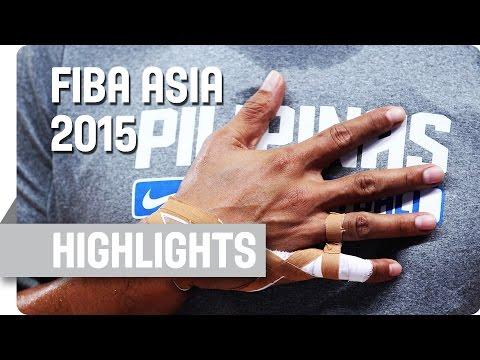 Philippines v Iran - Group E - Game Highlights - 2015 FIBA Asia Championship