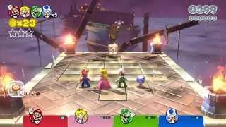Super Mario 3D World Four-Player Playthrough - World 6