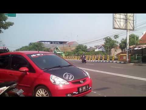 Telolet Mobil Honda Jazz Di Nganjuk (Part 2)