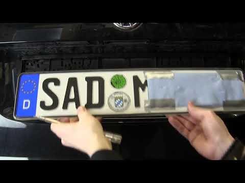 Auto: Nummernschild wechseln in wenigen Schritten