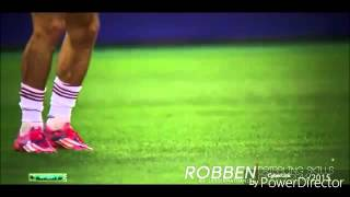 Arjen Robben  Dribbling skills and Goals  2015