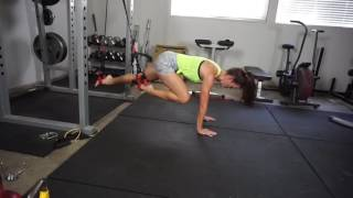 Glute/Core 180 Workout
