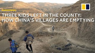 Extreme poverty in China: Only 3 kids left in a shrinking Chinese village
