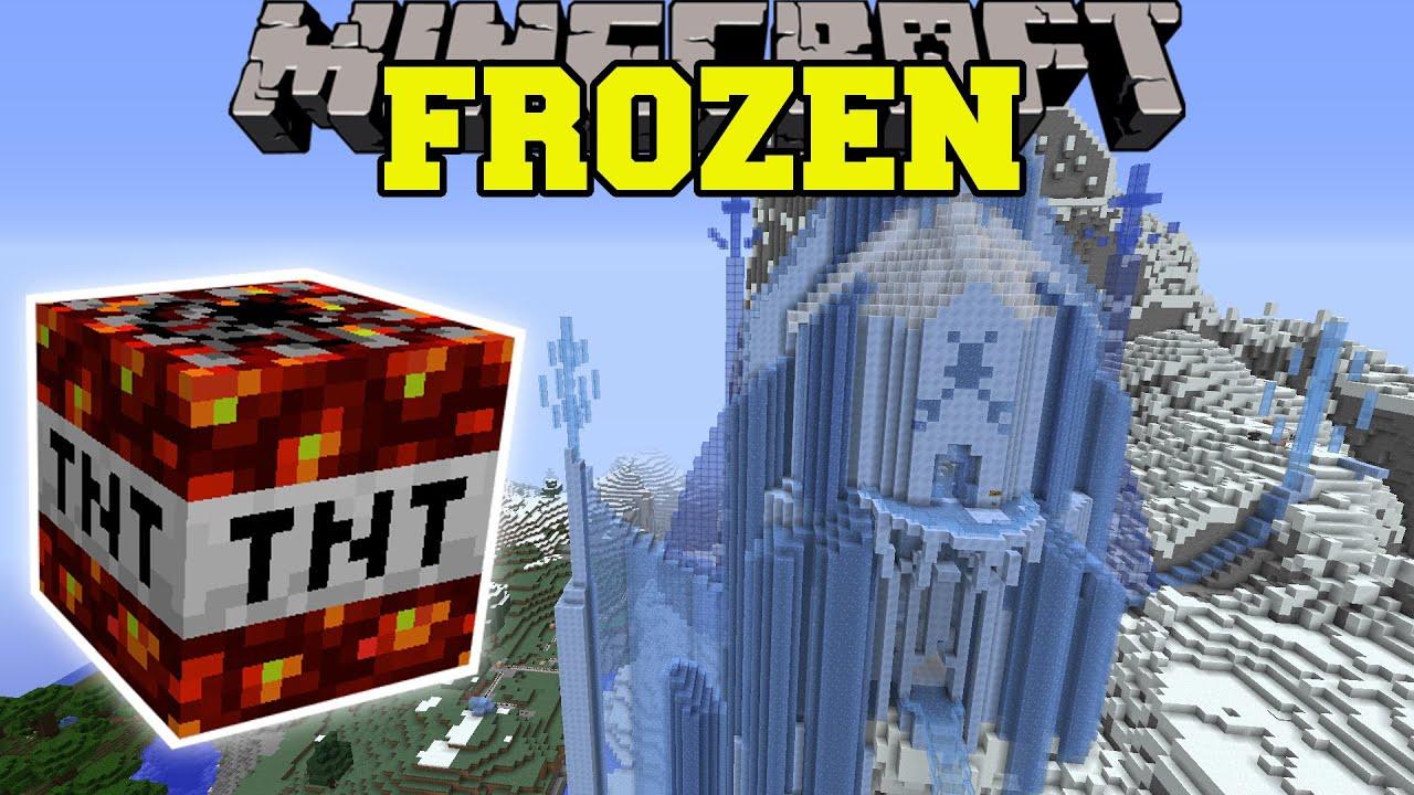 Minecraft Frozen Gets