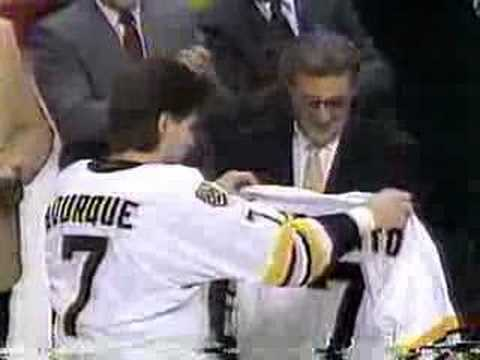 Ray Bourque Retires Video
