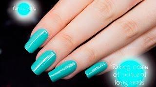 How I Take Care Of My Natural Long Nails - femketjeNL