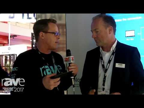 ISE 2017: Gary Kayye Interviews Holger Graff of Vivitek About NovoConnect Collaboration Solution