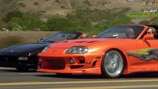 FAST and FURIOUS - Supra Test Drive (Supra vs Ferrari) #1080HD