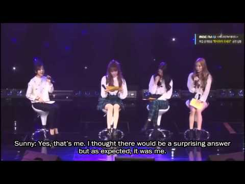 [eng Sub] 141121 Taetiseo (snsd) On Sunny's Fm Date Special video