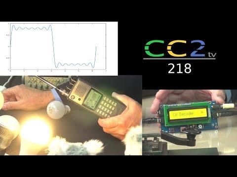 CC2tv #218: Störstrahlung von Lampen; Morsedecoder