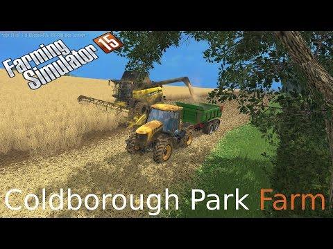 Farming Simulator 15 on Coldborough looks like we have a plan